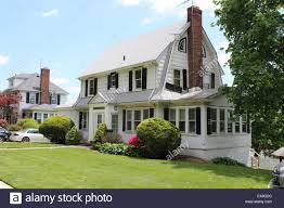 revival house colonial revival house hollis park gardens new