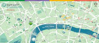 London Maps Download Map Of The City Of London Major Tourist Attractions Maps