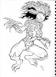 anti venom coloring pages eliolera