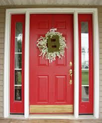 front doors painting front door red meaning painting front door