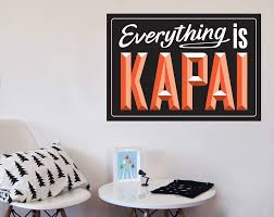 everything is kapai your decal shop nz designer wall art everything is kapai