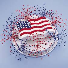 Flag Cakes Fireworks For The Fourth Cake Wilton