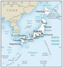 map us japan japan