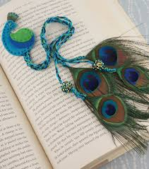 peacock bookmark how to back to with joann pinterest