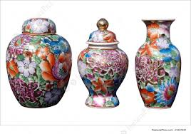 picture of three china ornaments