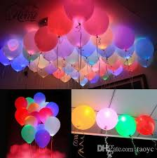 2017 led balloons 12 multicolor lights