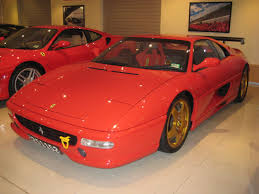 cars ferrari gold ferrari 355 challenge red with gold wheels 1 madwhips