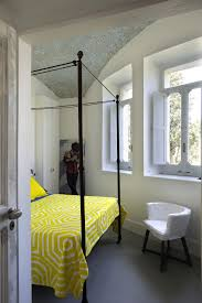 Black Canopy Bed Home Design Fancy Black Canopy Bed Design Near Yellow Bedspread