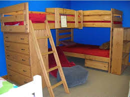 Best Triple Bunk Bed Images On Pinterest Triple Bunk Beds - Loft bunk beds kids