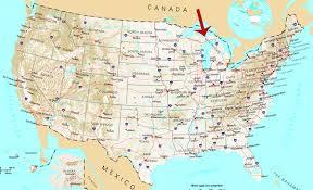 map of michigan lakes michigan lake map michigan map