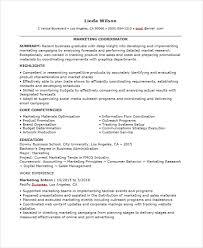 Entry Level Marketing Resume 46 Professional Marketing Resume Free U0026 Premium Templates
