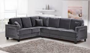 Grey Velvet Sectional Sofa Sofa Grey Velvet Sectional Sofa Grey Velvet Sofa Sectional