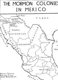 Chihuahua Mexico Map The Life Times U0026 Family Of Orson Pratt Brown