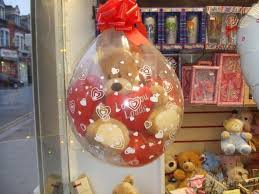 teddy in a balloon gift celebration partyware and gifts london