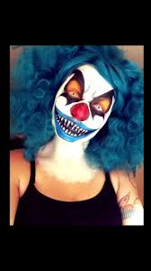 Evil Clown Halloween Costumes Halloween Scary Clown Face Paint U2026 Pinteres U2026