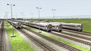 Septa Rail Map Train Simulator 2017 Hd Operating Septa Ge Silverliner Iv On