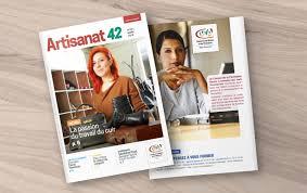 chambre des metiers 42 création du nouveau magazine de la chambre des métiers de la loire