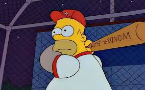 homer simpson simpson has officially been inducted into the baseball hall of fame