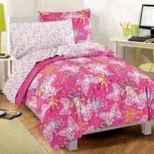 Girls Bed In A Bag by Pink Butterfly Girls Bedding Full Comforter Set Bed In A Bag