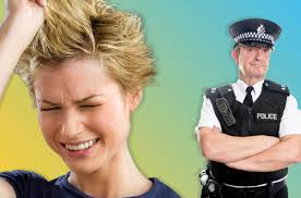 officer haircut woman calls police after she receives a bad haircut sick chirpse