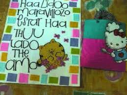 imagenes de carteles de amor para mi novia hechos a mano regalos para mi novio youtube