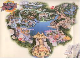 Universal Park Orlando Map by Tickets