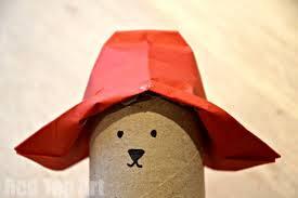 paddington bear hat craft red ted art u0027s blog