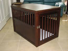 dog crate end table home design by john