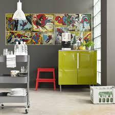 chambre marvel marvel and wallpaper wall murals décor bedroom