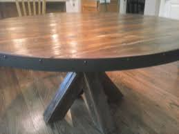 Plank Dining Room Table Dining And Kitchen Tables Farmhouse Industrial Modern