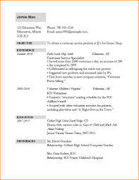 Resume Applicant Resume For Job Application Format Example Of Resume For Job