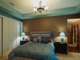cool blue bedroom color schemes bedroom has classic blue and brown