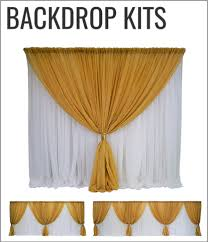 pipe and drape backdrop wholesale pipe and drape kits and backdrop systems urquid linen