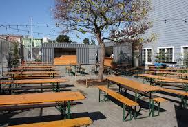 German Beer Garden Table by Biergarten Outdoor German Beer Garden Thrillist San Francisco