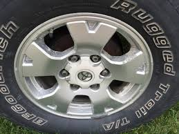 refinishing peeling stock trd wheels via stripping and duplicolor
