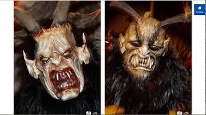 Krampus Halloween Costume Krampus Runs Austria U0026 Central Europe