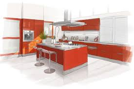 amenagement cuisines amenagement interieur cuisine interior design illustration
