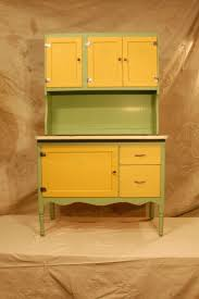 1950s Kitchen Furniture by Furniture Cool Green Hoosier Cabinet Plus White Countertop And