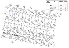 Diy Wood Wine Rack Plans by Wooden Modular Wine Rack Plan