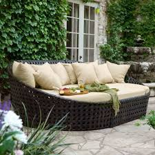 furniture casual outdoor living room decoration using deck