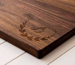 monogramed cutting boards best 25 engraved cutting board ideas on laser