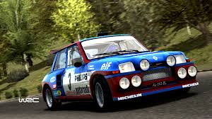 renault turbo rally rot teufel simscreens wrc renault 5 turbo