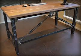Custom Made Office Desks Custom Made Industrial Executive Desk By Industrial Works