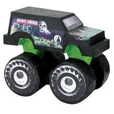 grave digger monster truck poster monster jam party supplies birthdayexpress com