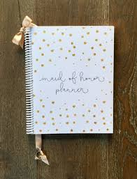 of honor planner book of honor wedding planner book wedding organizer gold