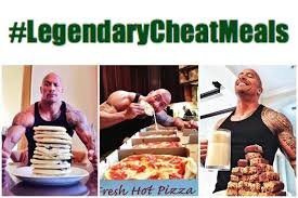 cheat day the rock style kinda amazing diet health and