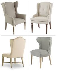 wingback dining room chairs imagine all 4 of these fantastic chairs surrounding the live edge