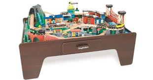 imaginarium train table 100 pieces toysrus imaginarium mountain rock train table only 99 99 shipped