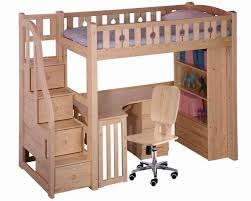 Kids Storage Beds With Desk Bedroom Dazzling Huckleberry Loft Bunk Beds For Kids With