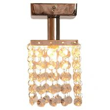 Crystal Flush Mount Lighting Compare Prices On Flush Mount Crystal Light Fixture Online